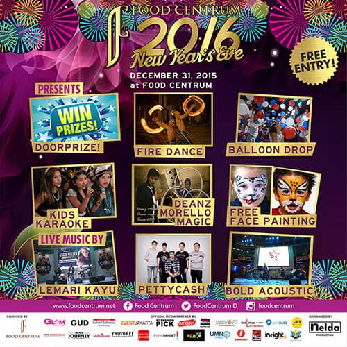 Food Centrum 2016 New Year's Eve