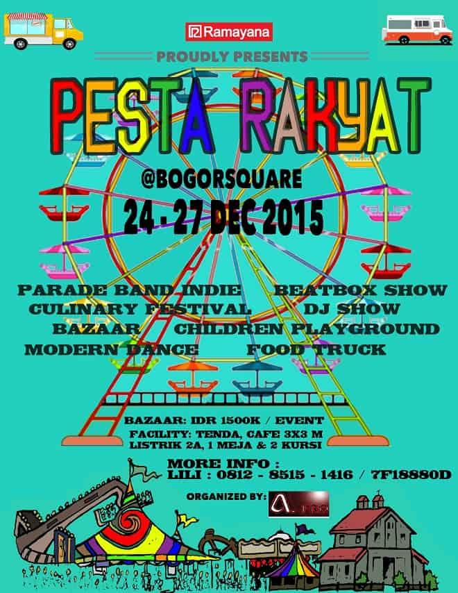 Food Truck, Bazaar, dan Festival Kuliner di Pesta Rakyat Ramayana Bogor Square
