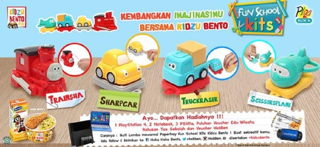 Hoka Hoka Bento Promo Kidzu Bento Gratis Mainan Anak