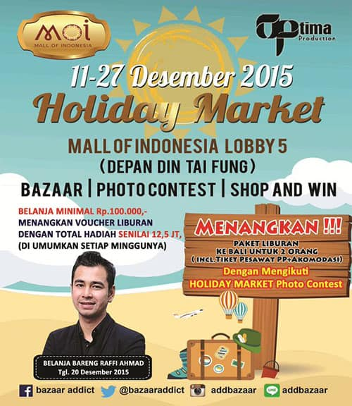 Holiday Market di Mall of Indonesia