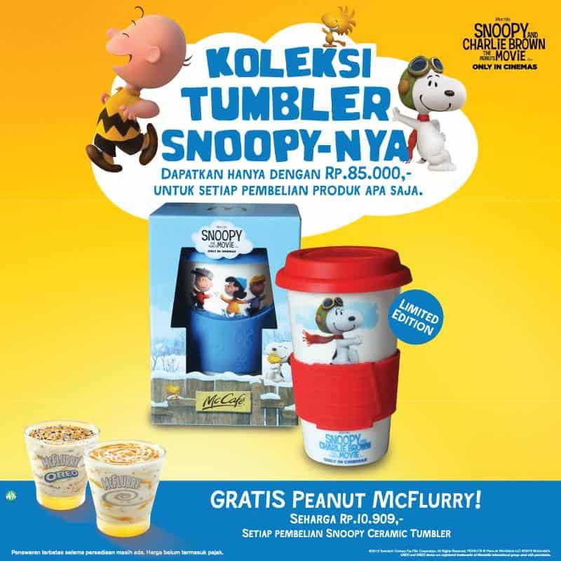 McDonald's Special Promo Beli Tumbler Gratis McFlurry