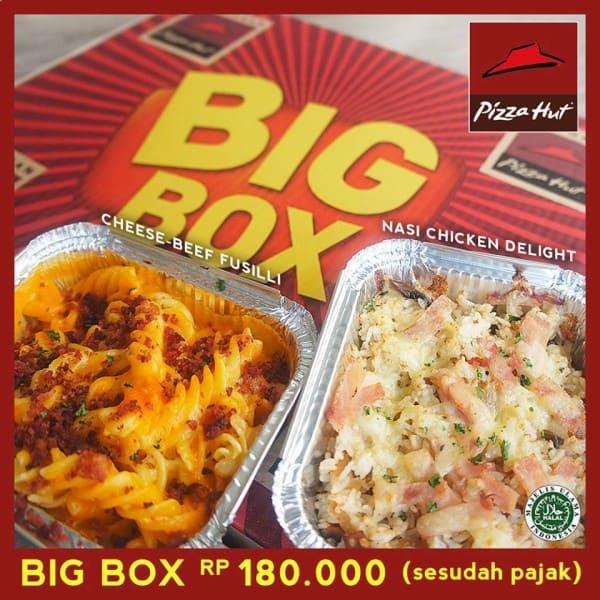Pizza Hut Promo Big Box Hanya Rp. 180.000,-