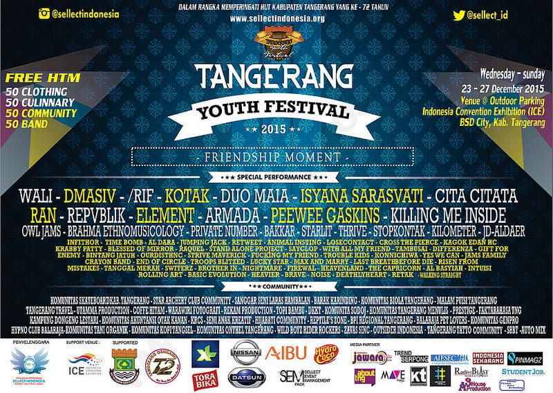 Tangerang Youth Festival 2015 Friednship Moment