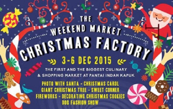 The Weekend Market Christmas Factory di PIK