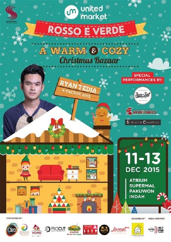 "United Market ""Rosso E VerdeA Warm & Cozy Christmas Bazaar"