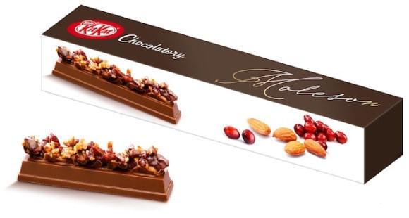 Sambut Hari Valentine, Kit Kat Jepang Bikin Cokelat Bertopping Buah dan Kacang