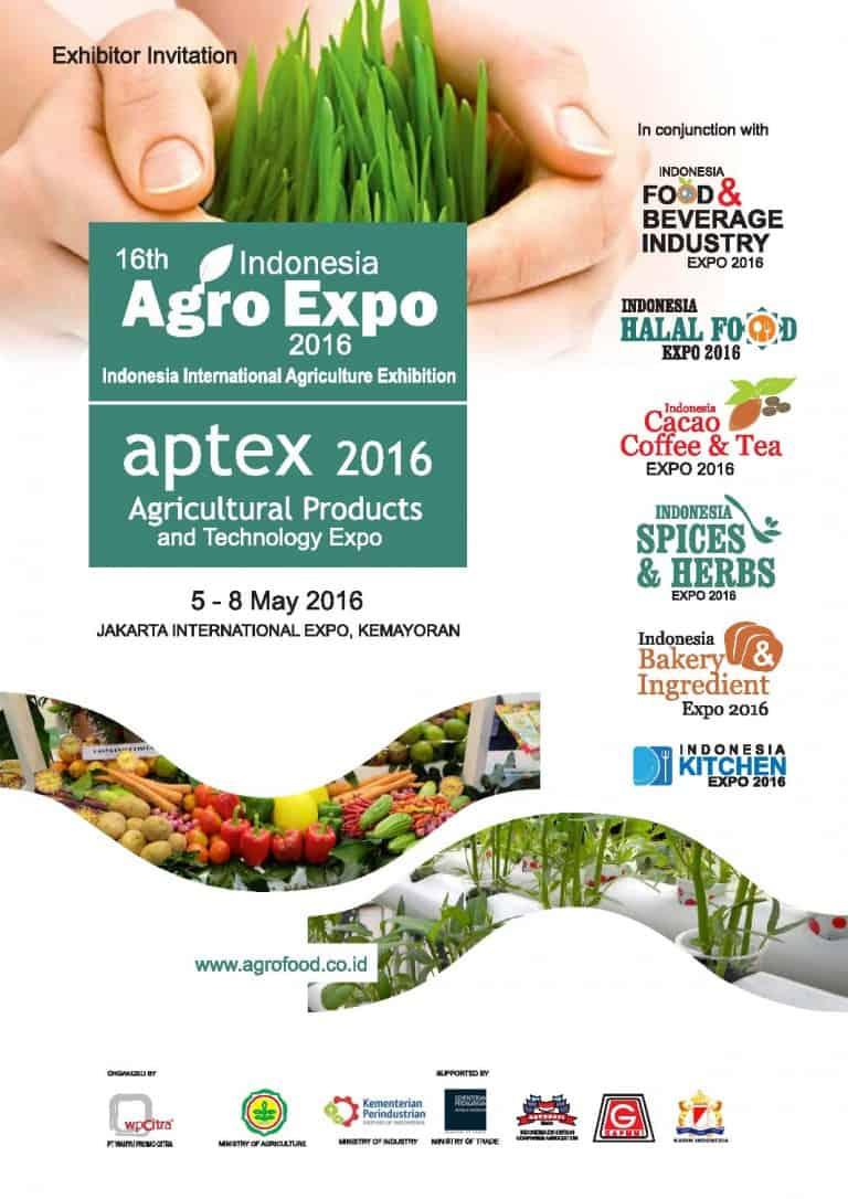 16th Indonesia Agro Expo dan Aptex 2016