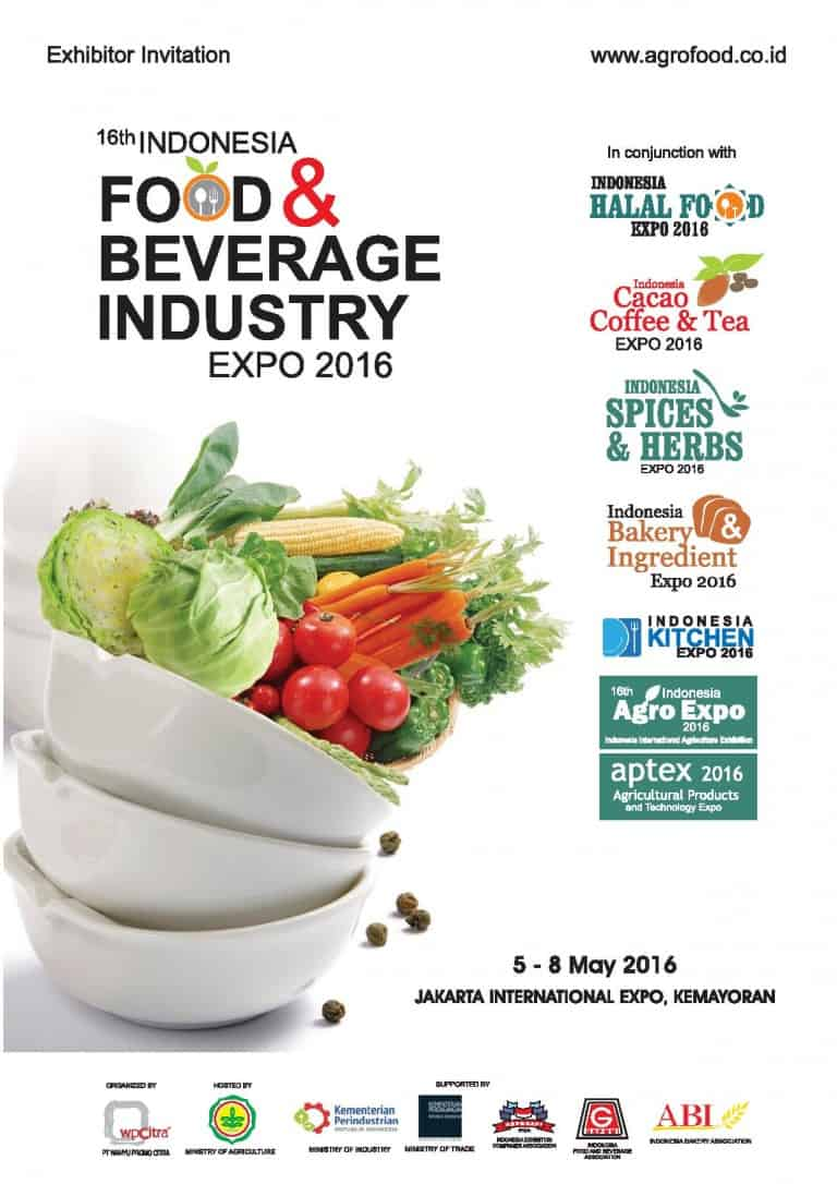 16th Indonesia Food & Beverage Industry Expo 2016