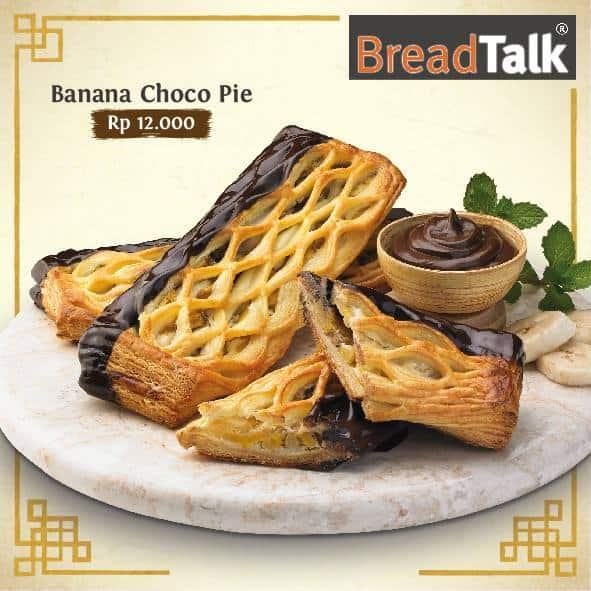 BreadTalk Promo Menu Baru Banana Choco Pie Hanya Rp. 12.000,-