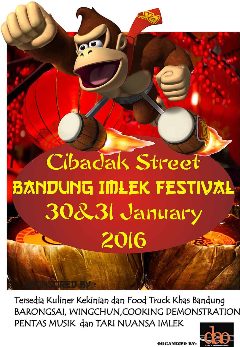 Cibadak Street Bandung Imlek Festival 2016