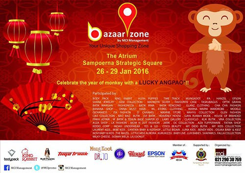 Fashion dan Kuliner Hadir di Bazaar Zone Sampoerna Strategic Square
