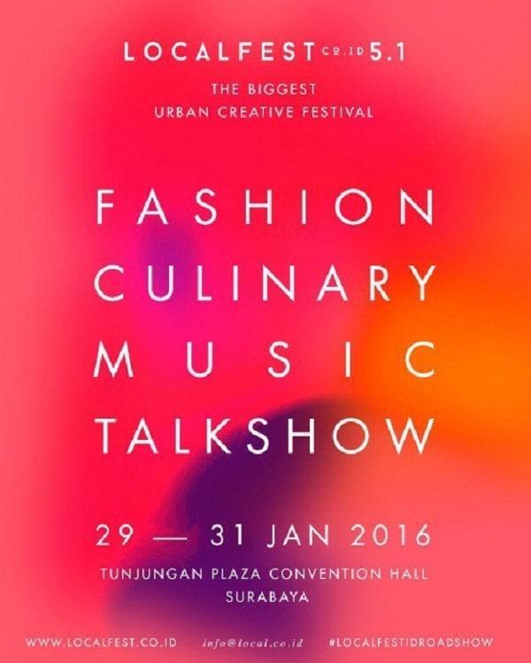 Fashion dan Kuliner di LOCALFEST 2016 Surabaya
