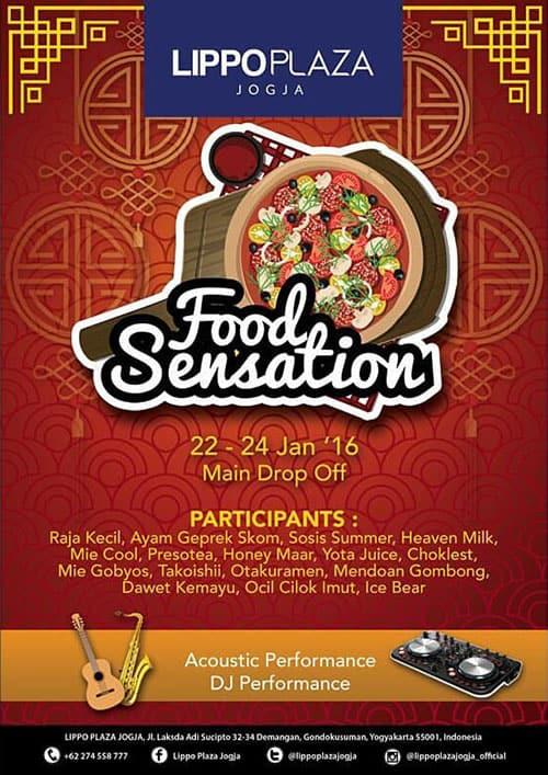 Food Sensation di Lippo Plaza Jogja