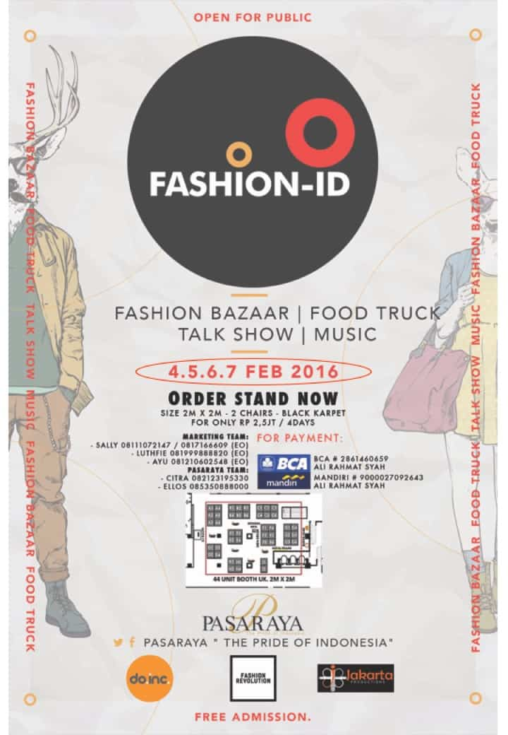 Food Truck Ikut Meramaikan Fashion-ID Bazaar