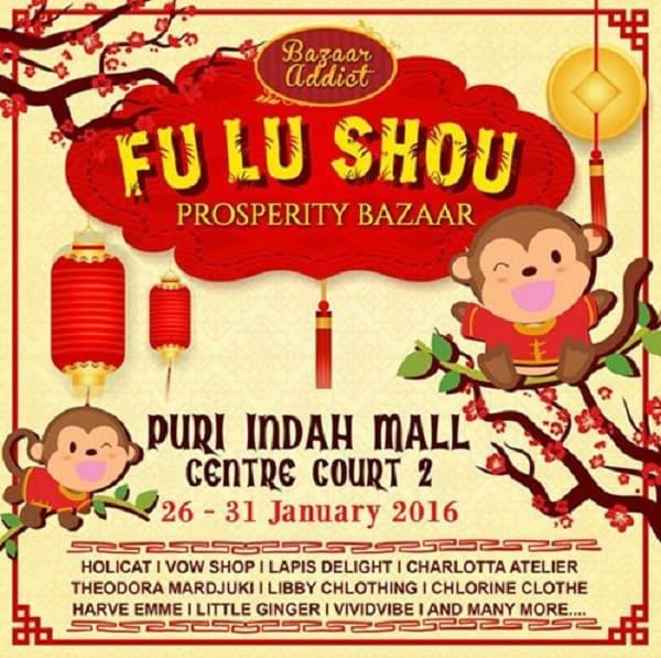Fu Lu Show Prosperity Bazaar di Puri Indah Mall