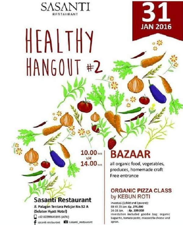 Healthy Hangout #2 di Sasanti Restaurant Yogyakarta