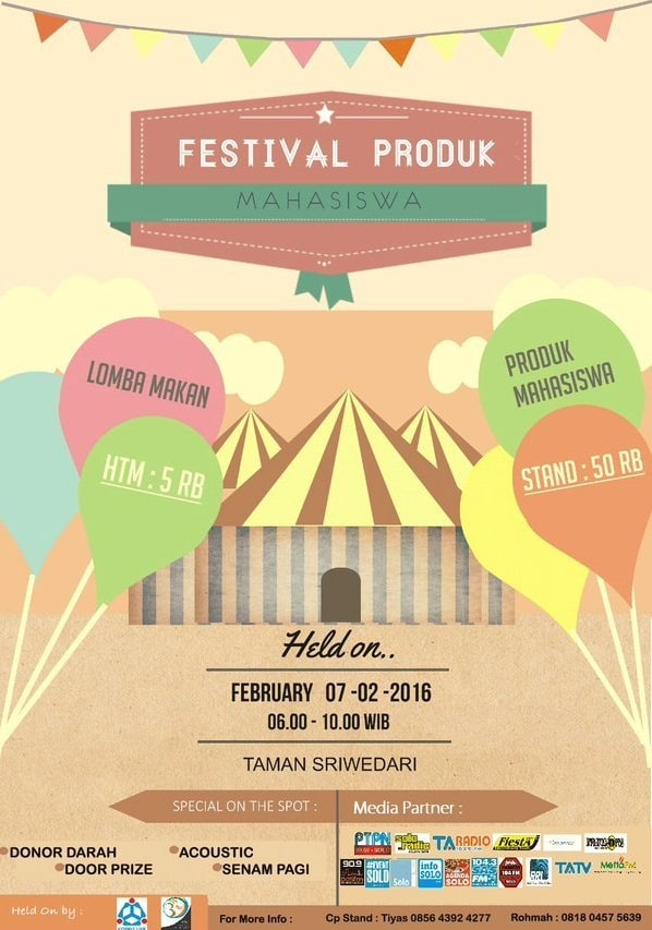 Ikuti Lomba Makan di Festival Produk Mahasiswa
