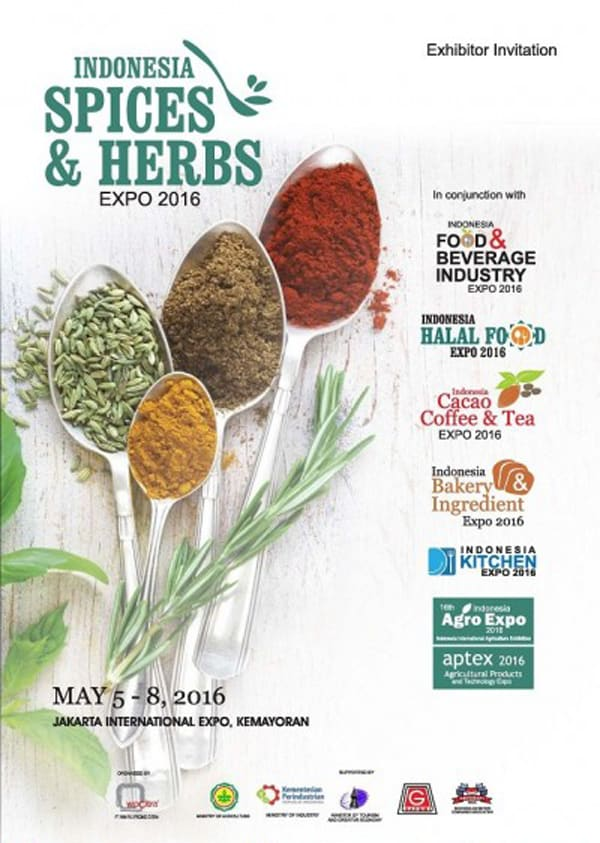 Indonesia Spices & Herbs Expo 2016