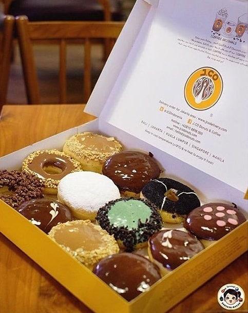 J.Co Donuts Promo Hemat Pakai Kartu Kredit