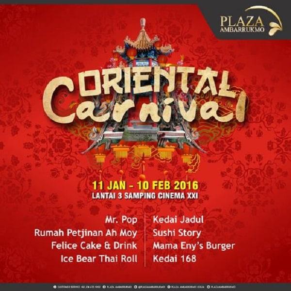 Oriental Carnival di Plaza Ambarrukmo