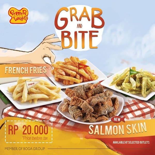 Pepper Lunch Promo Menu Baru Salmon Skin Hanya Rp. 20.000,-