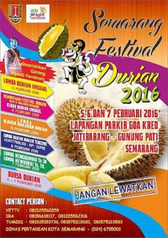 Semarang Festival Durian 2016