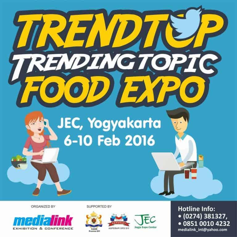 TRENDTOP Trending Topic Food Expo 2016 di JEC Yogyakarta