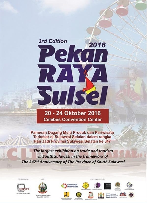 3rd Edition Pekan Raya Sulsel 2016 di Celebes Convention Center