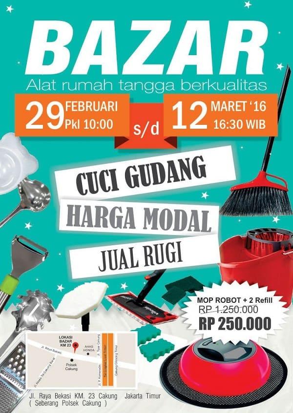Bazaar Fackelmann Indonesia di Cakung