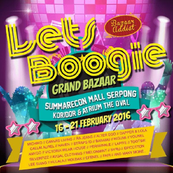 Berburu Jajanan Lezat di Let's Boogie Grand Bazaar