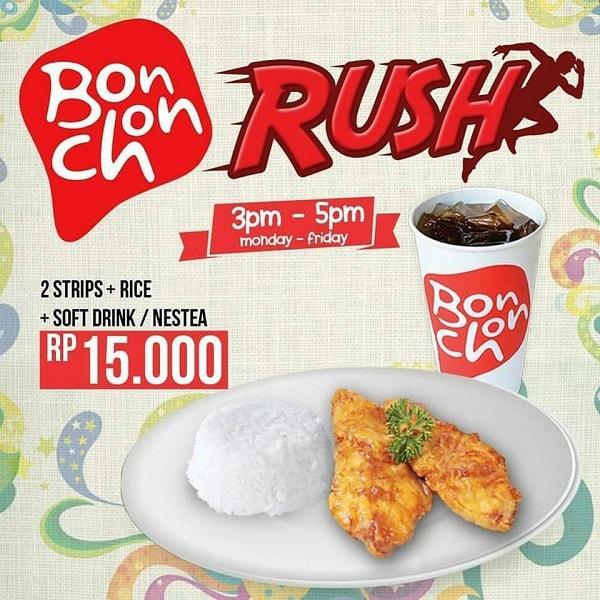 BonChon Promo Rush Hanya Rp. 15.000,-