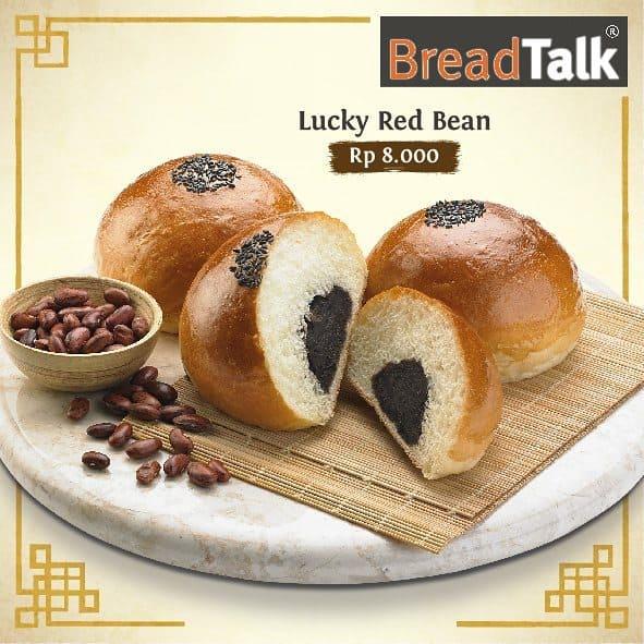 BreadTalk Promo Spesial Lukcy Red Bean Hanya Rp. 8.000,-