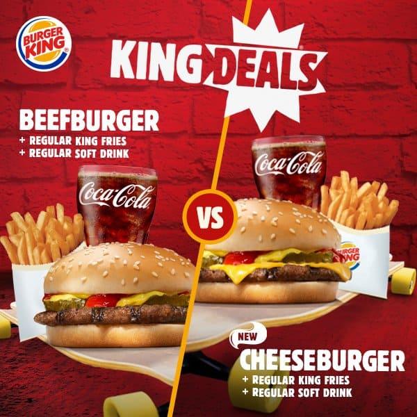 Burger King Promo King Deals Harga Mulai Rp. 20.000,-
