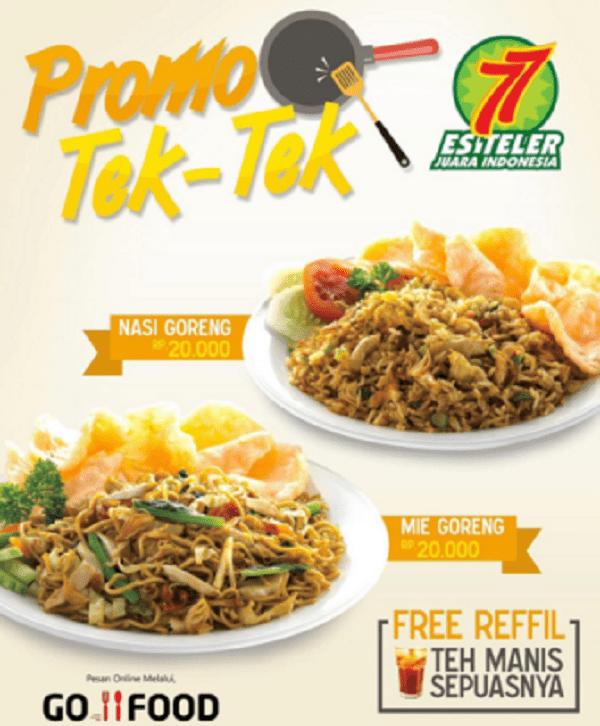 Es Teler 77 Promo Tek-Tek Hanya Rp. 20.000,-