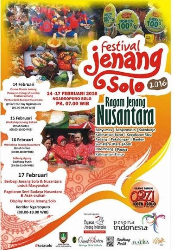 Festival Jenang Solo 2016