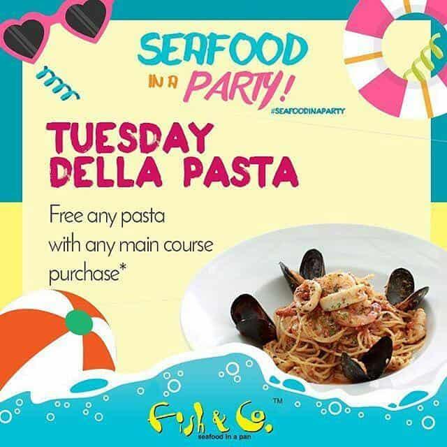 Fish & Co. Promo Tuesday Della Pasta