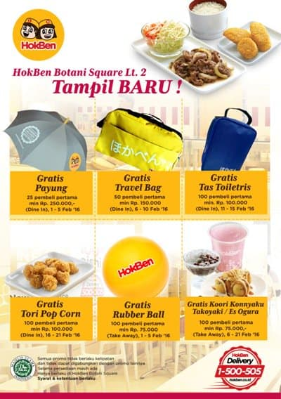 Hoka Hoka Bento Promo Heboh Gratis Hadiah Langsung