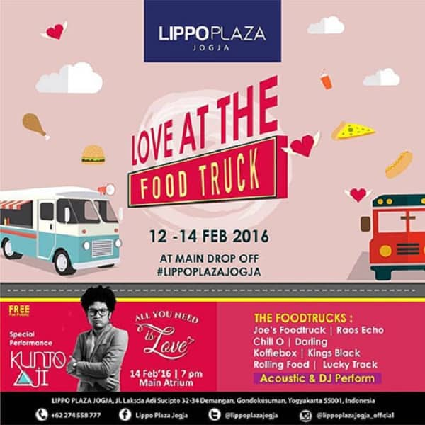Love at The Food Truck di Lippo Plaza Jogja