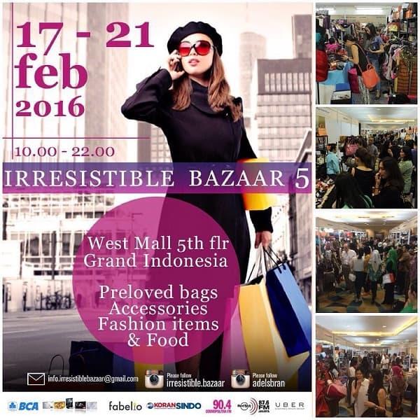 Nyonya Dimsum dan Makan Makan Ramaikan Irresistible Bazaar di Grand Indonesia
