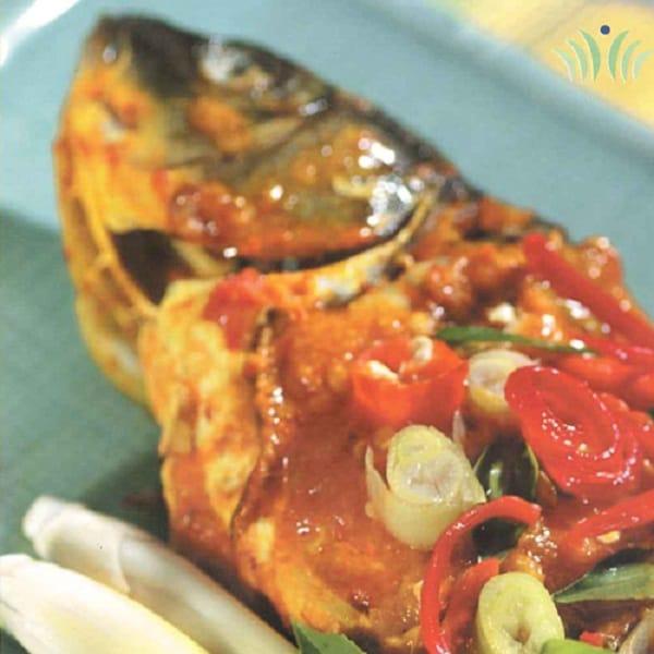 Masakan Manado: Ikan Mas Woku