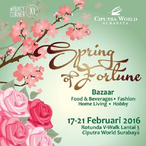 Spring of Fortune Bazaar di Ciputra World Surabaya