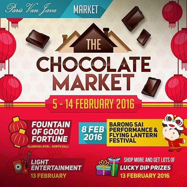 The Chocolate Market di Paris Van Java Bandung