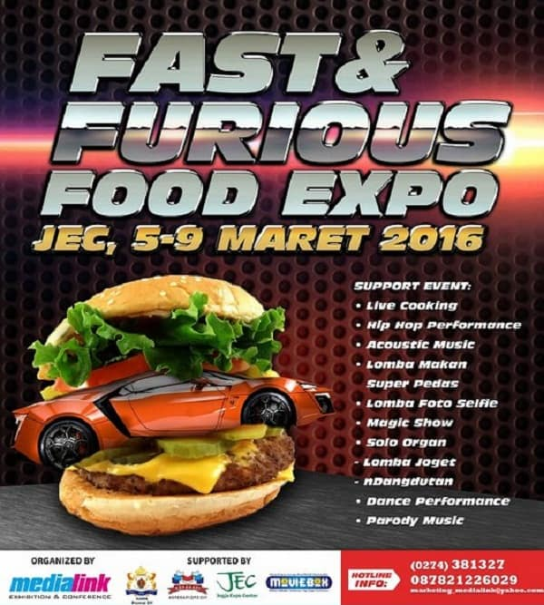 The Fast and Furious Food Expo