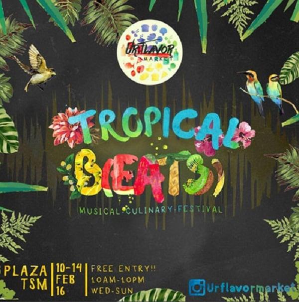 UrFlavor Market Tropical Beats di Trans Studio Mall Bandung