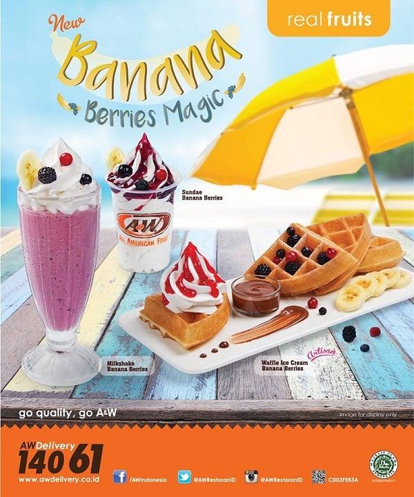 A&W Restaurant Promo Dessert Hemat Harga Mulai Rp. 10.000an