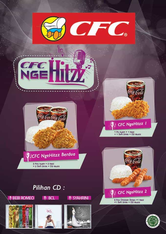 CFC Indonesia Promo CFC NgeHitzz Gratis CD Music