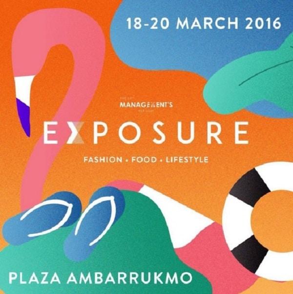Exposure Yogyakarta Bazaar di Amplaz