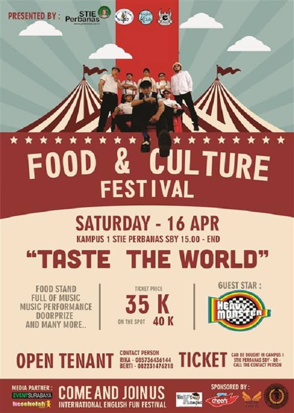 "Food & Culture Festival ""Taste The World"""