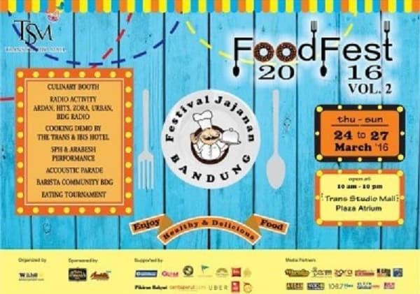 Festival Jajanan Bandung: Food Fest 2016