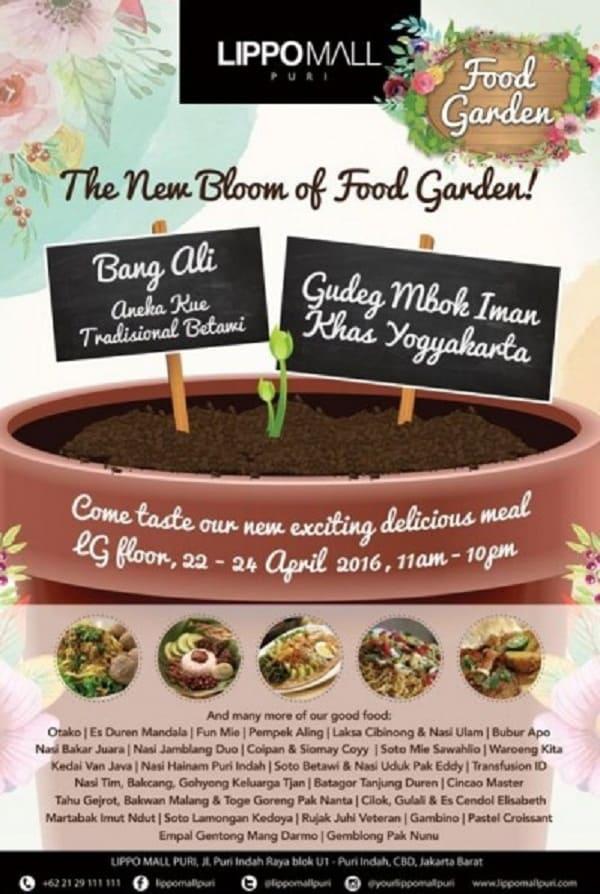 """Food Garden """"The New Bloom of Food Garden"""""""